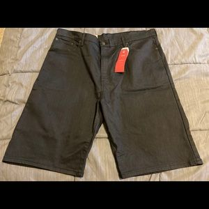 Levi's Black 569 Shorts Size 42